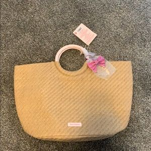 NWT Juicy Couture Large wicker bag